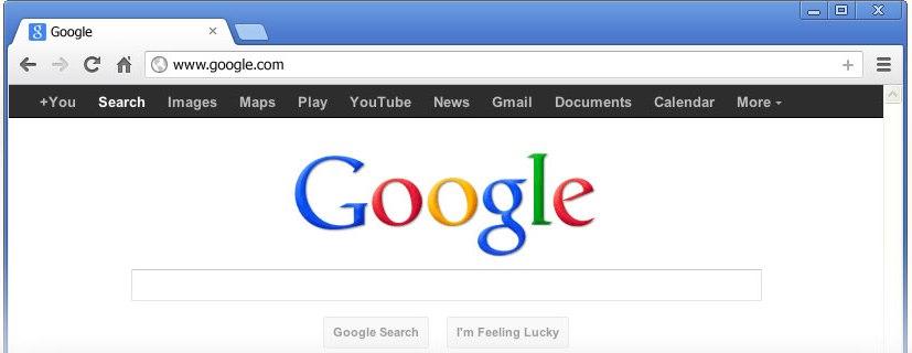 Make Google My Homepage In Google Chrome