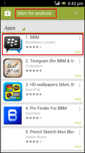 2. Выберите BlackBerry Limited.