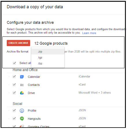 Save Gmail Data With Google 'TakeOut'! – SysTools Blog