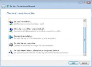 Шаг 4 для создания одноранговой сети