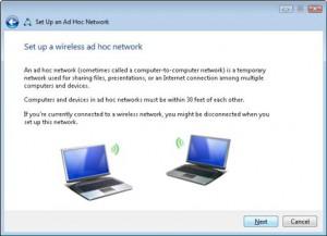 Шаг 5 для создания одноранговой сети