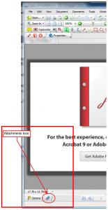 Attachment Icon in the Tab