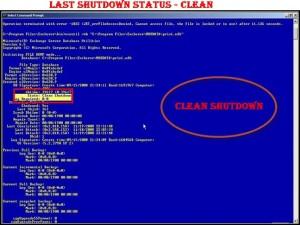 Clean Shutdown