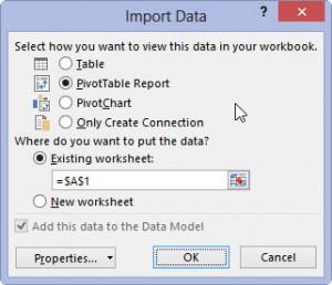 Поддержка модели данных