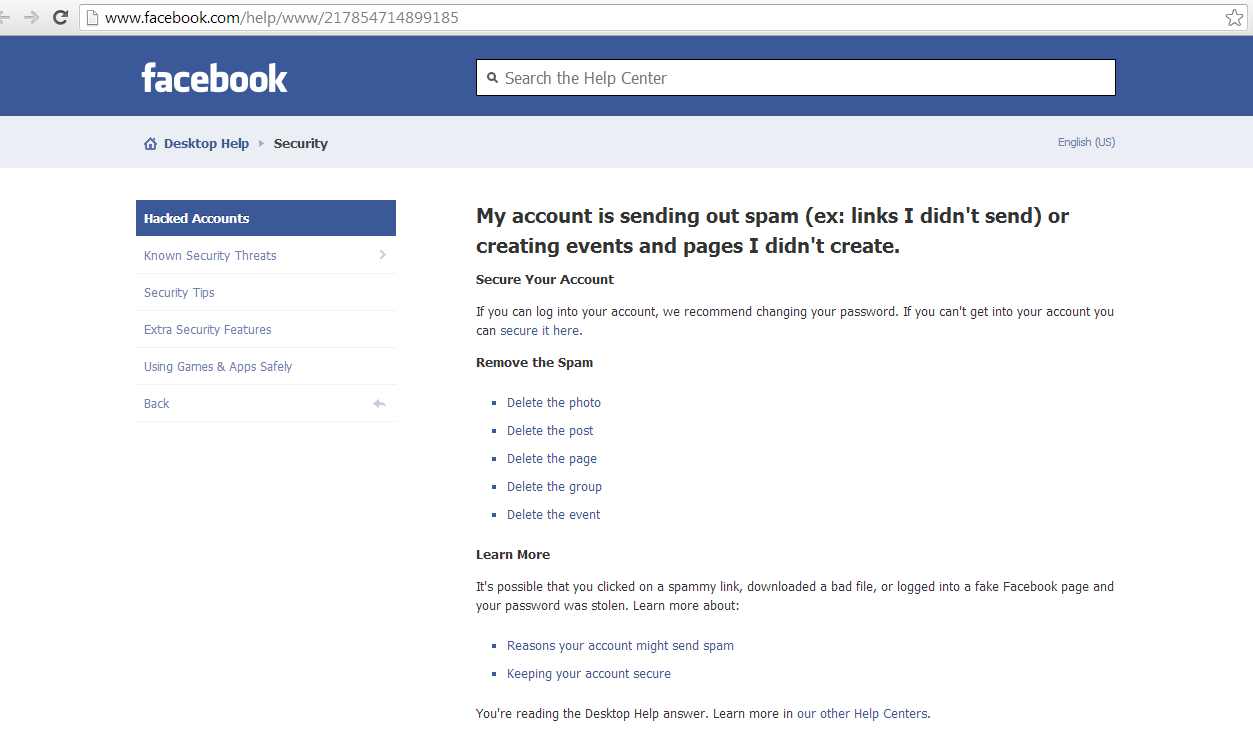 How To Delete Facebook Account - 47.6KB