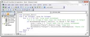 Что такое код VBA 1