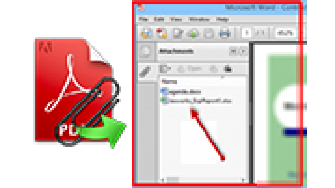 How to Open Attachments in a PDF File