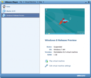 VMware-плеер-виртуальные машины 2