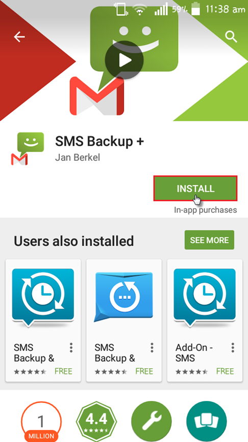Backing Up Android SMS, MMS, Calls, and Whatsapp Chat to