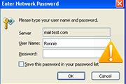 Outlook is Prompting Asking for Password When Connecting