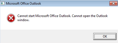 MS Outlook Cannot Start - Fix Common Issues