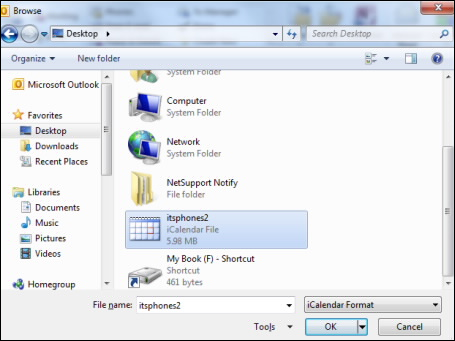 Convert ICS to PST Outlook file in batch – SysTools Blog