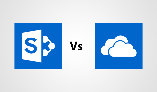 SharePoint Vs OneDrive for Business : Find the Differences