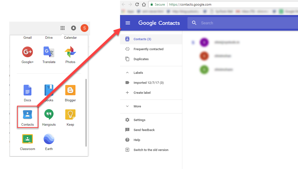 Explore Google Contacts Manager & How To Access Gmail Address Book
