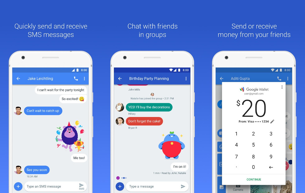New Google Chat : Android's New Chat to Compete with Apple iMessage