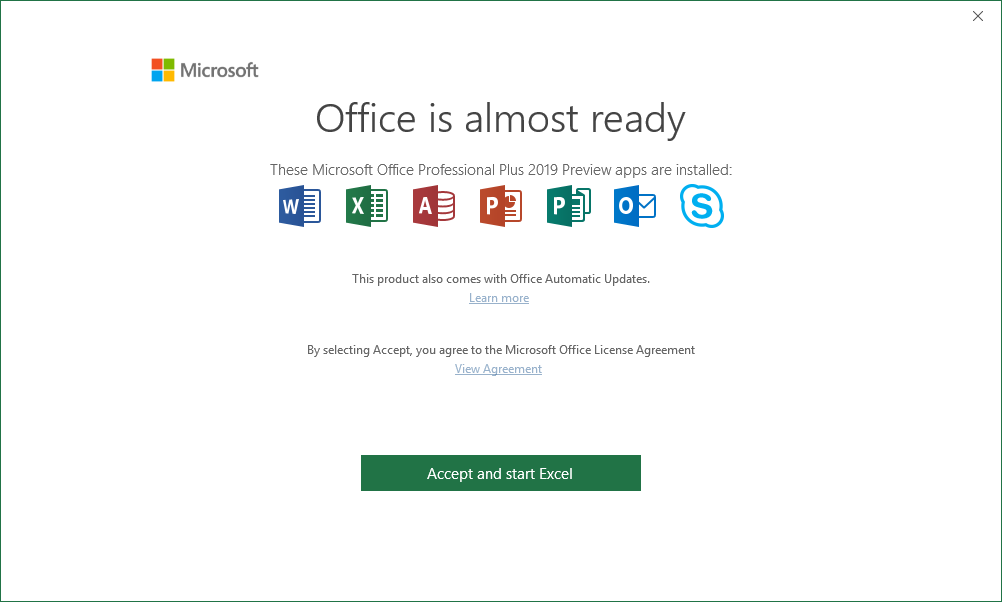 ms office professional 2016 vs 2019