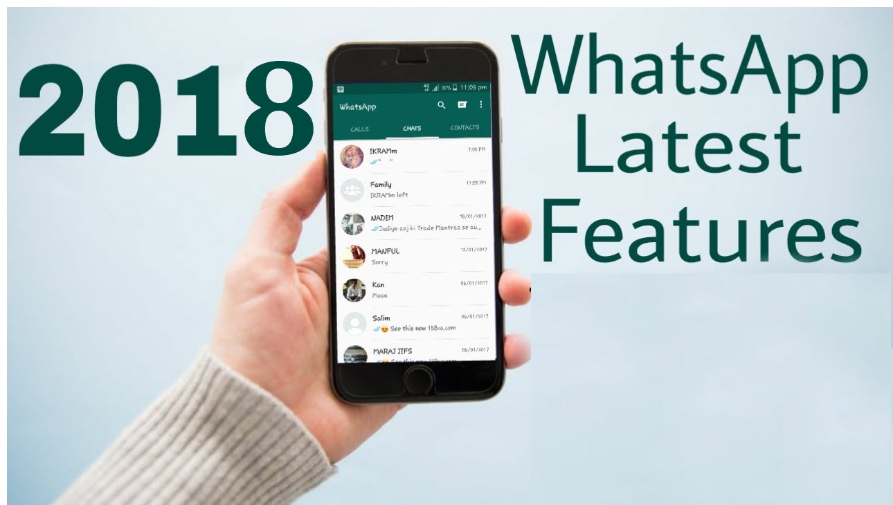 8 Upcoming & New Whatsapp Features Updated in 2018