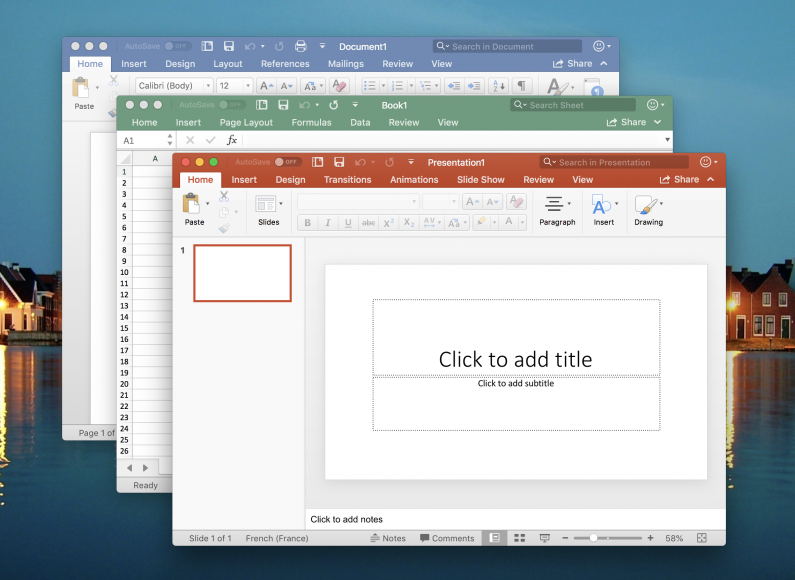 Microsoft powerpoint office for mac