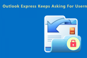 outlook express keeps asking for username and password