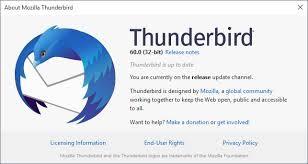 thunderbird windows xp