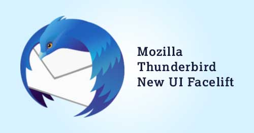 mozilla plans ui refresh and better gmail support for thunderbird