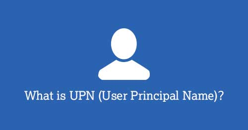what is upn in office 365