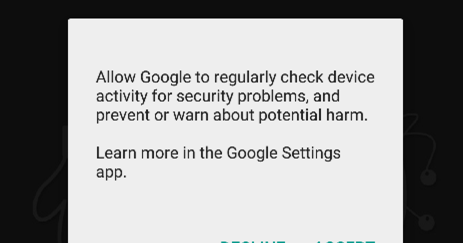 Regularly check device activity