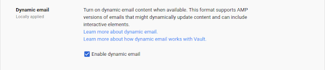 Dynamic Email