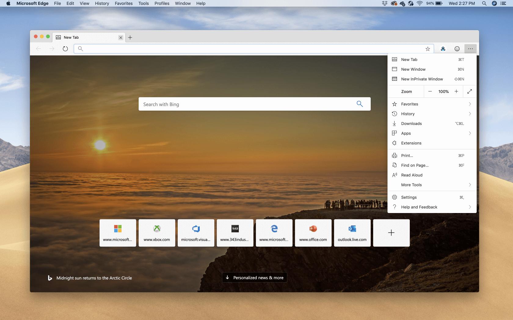 microsoft edge browser for mac os