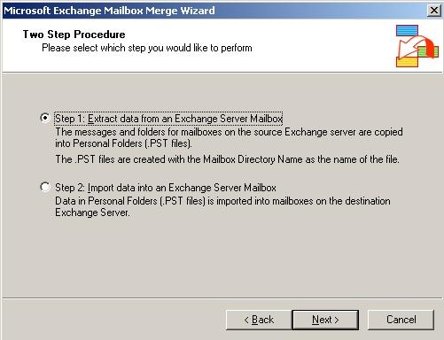extract exchange erver data